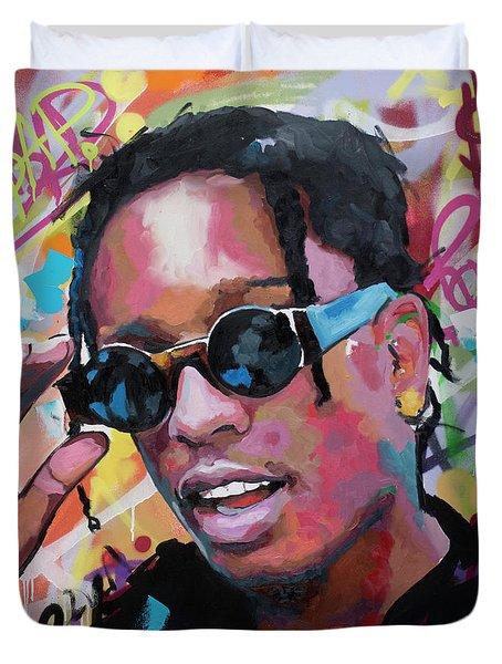 A$ap Rocky Duvet Cover