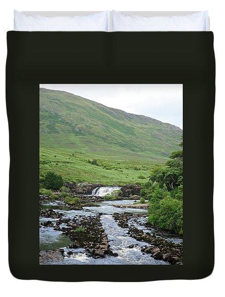 Aasleagh Falls Duvet Cover by Matt MacMillan