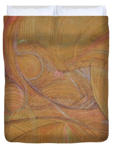 Abalone Duvet Cover by Caroline Czelatko