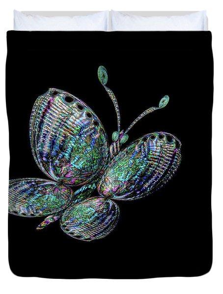Abalonefly Duvet Cover