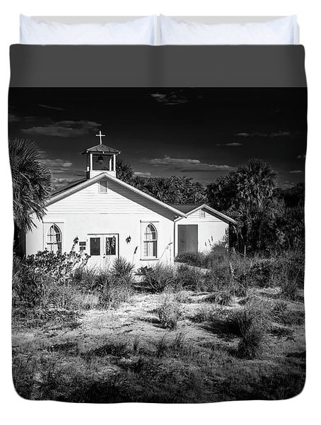 Duvet Cover featuring the photograph Abandon by Marvin Spates