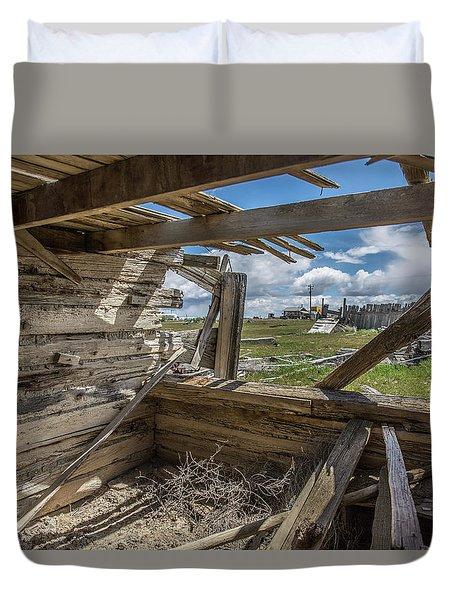 Abandoned Building In Cisco, Utah Duvet Cover
