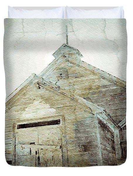 Abandoned Church 1 Duvet Cover