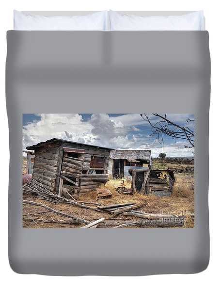 Abandoned Country Life Duvet Cover