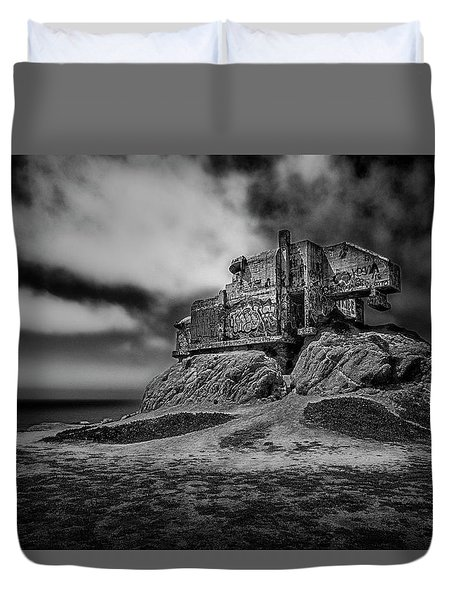 Abandoned Duvet Cover by David Cote