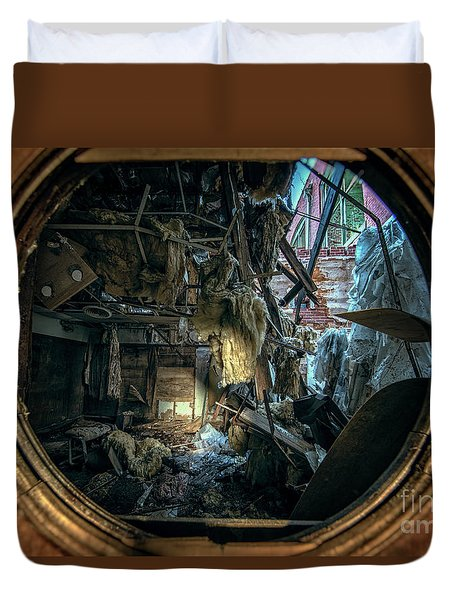 Abandoned Decay Duvet Cover