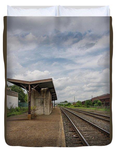 Abandoned Depot Duvet Cover