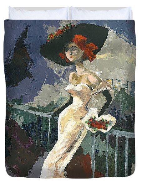 Abandoned Duvet Cover by Elisabeta Hermann