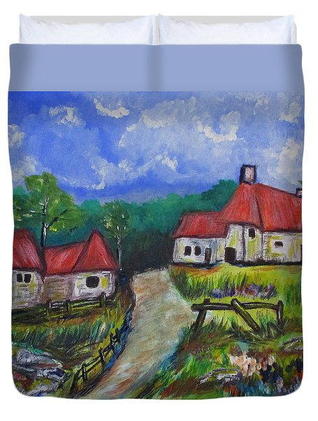 Abandoned Farm Duvet Cover