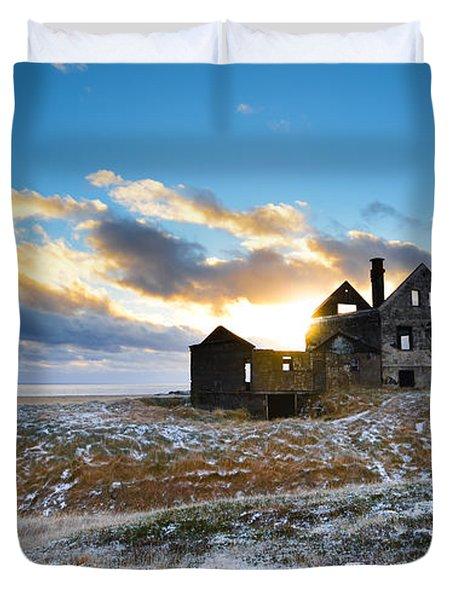 Abandoned Farm On The Snaefellsnes Peninsula Duvet Cover