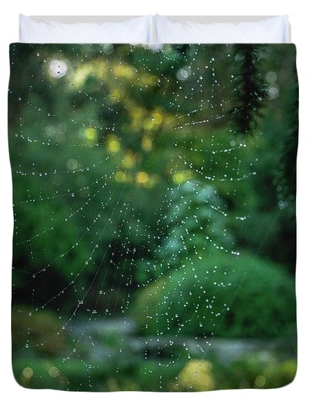 Morning Web Duvet Cover