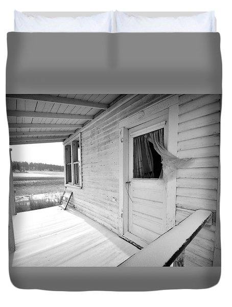 Abandoned Home Duvet Cover