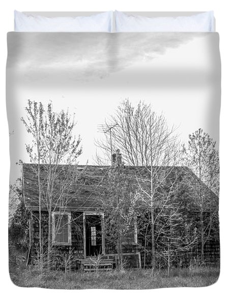 Abandoned House Queenstown, Md  Duvet Cover