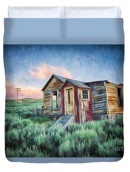Abandoned In America Duvet Cover