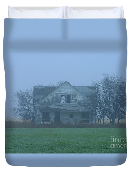 Abandoned In Oklahoma Duvet Cover