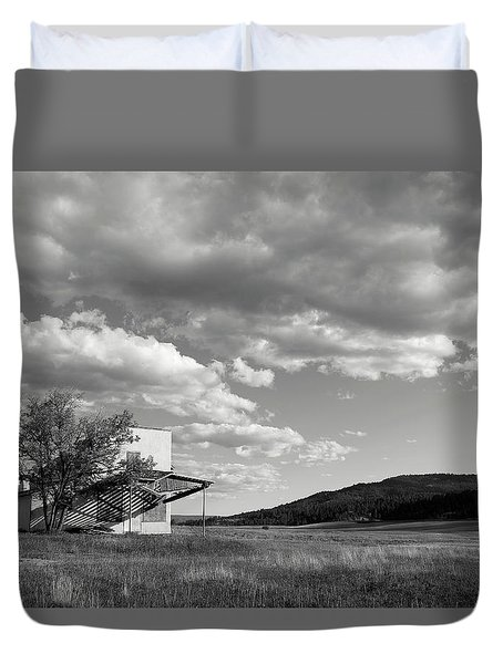 Abandoned In Wyoming Duvet Cover