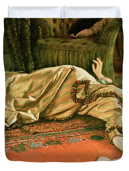 Abandoned Duvet Cover by James Jacques Joseph Tissot