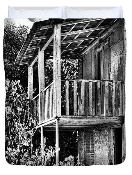 Abandoned, Kalamaki, Zakynthos Duvet Cover