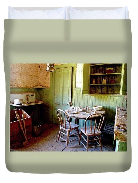 Abandoned Kitchen Duvet Cover