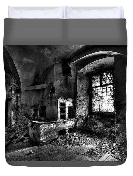 Abandoned Kitchen Duvet Cover