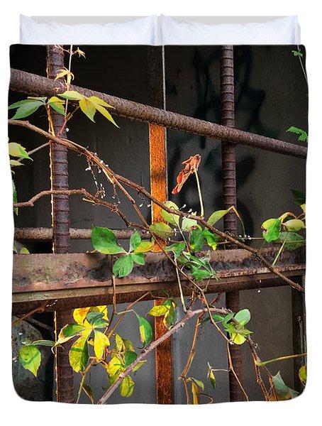 Abandoned Light Duvet Cover
