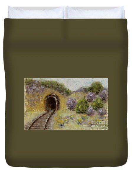 Abandoned Mine Duvet Cover
