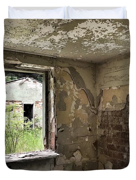 Abandoned Old Ammunition Depot Of The Belgian Army  Duvet Cover