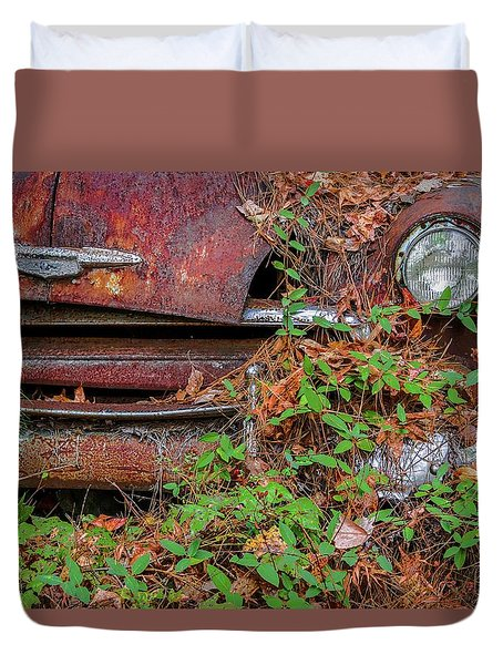 Abandoned Duvet Cover by Patrice Zinck