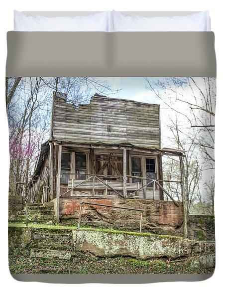 Abandoned Store Duvet Cover