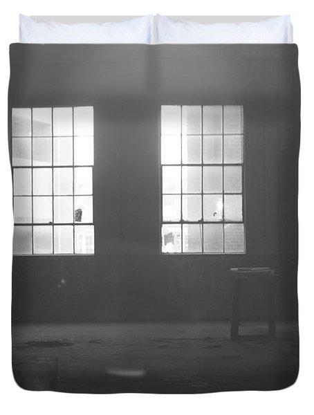 Abandoned Warehouse Duvet Cover by Carol Turner