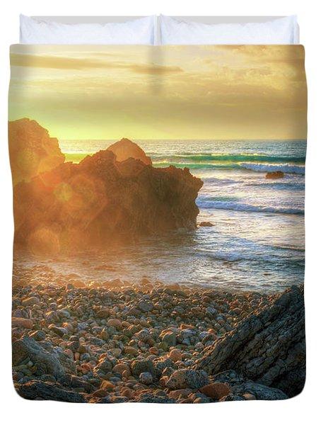 Abano Beach Duvet Cover