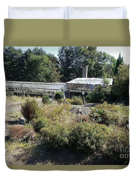 Abanoned Old Horticulture Duvet Cover