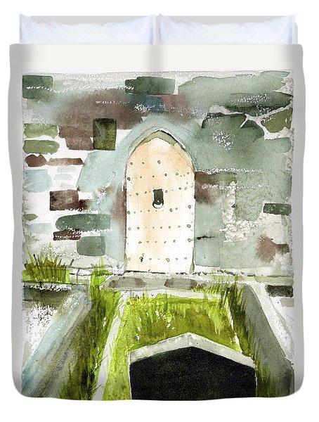 Abbey Door Duvet Cover