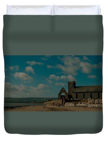Abbeyside Church Duvet Cover