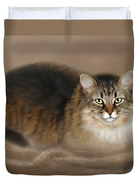 Abby Duvet Cover by Barbara Hymer