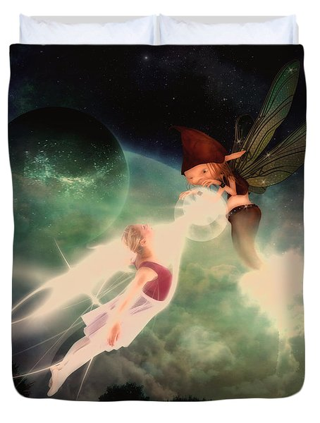 Abduction Duvet Cover