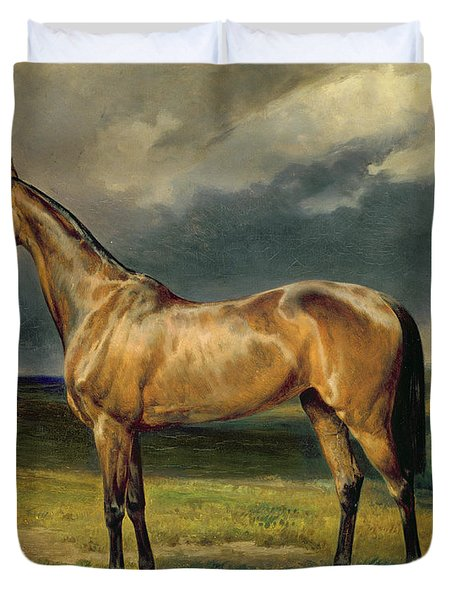 Abdul Medschid The Chestnut Arab Horse Duvet Cover