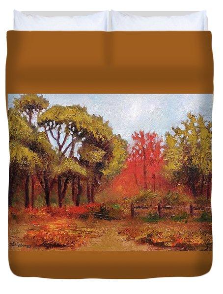 Abeel Fields Duvet Cover