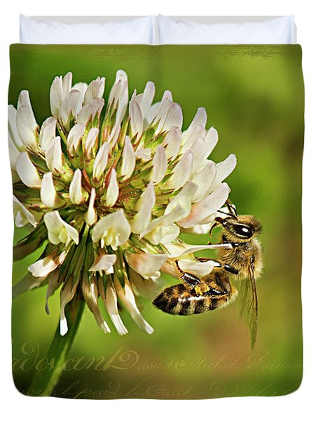 Abeille Duvet Cover