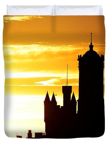 Aberdeen Silhouettes - Landscape Duvet Cover