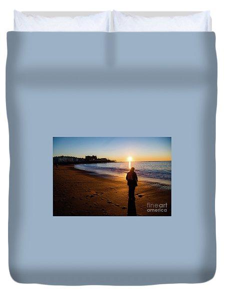 Aberystwyth Sunset Duvet Cover