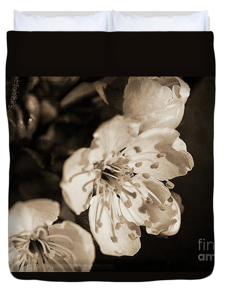 Duvet Cover featuring the photograph Abiding Elegance by Linda Lees