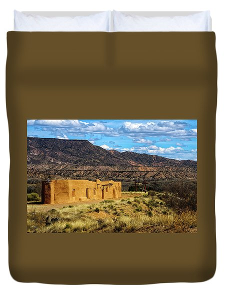 Abiquiu Church Duvet Cover