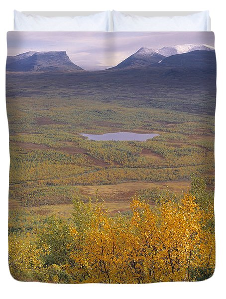 Abisko Nationalpark Duvet Cover