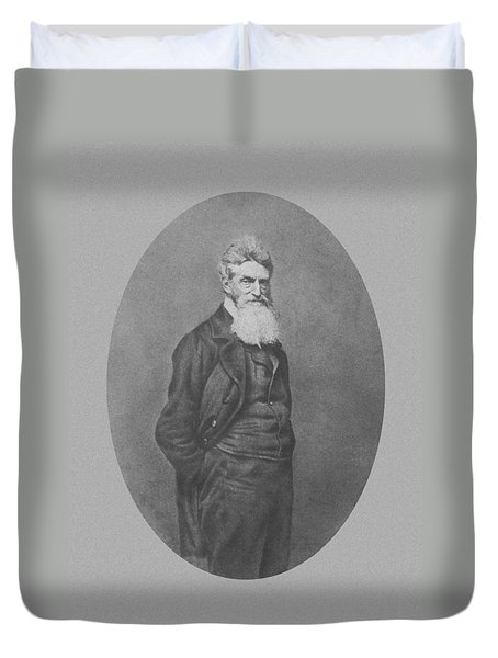 Abolitionist John Brown Duvet Cover by War Is Hell Store