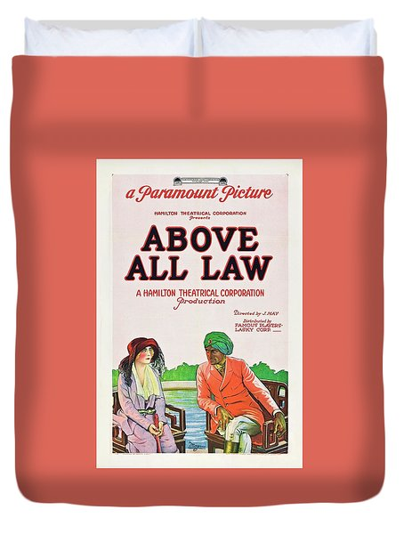 Above All Law Duvet Cover by Paramount