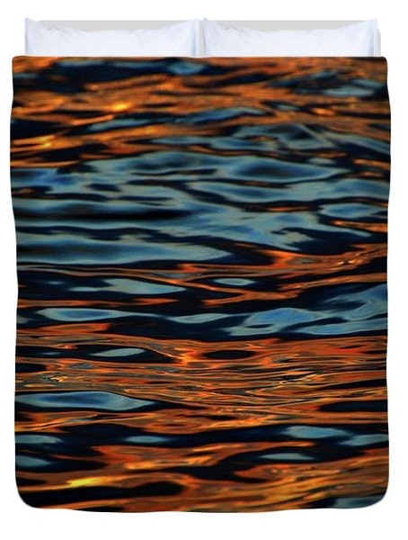 Above And Below The Waves  Duvet Cover