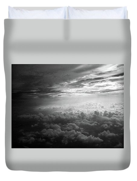 Above Earth 3 Duvet Cover