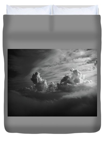 Above Earth 4 Duvet Cover