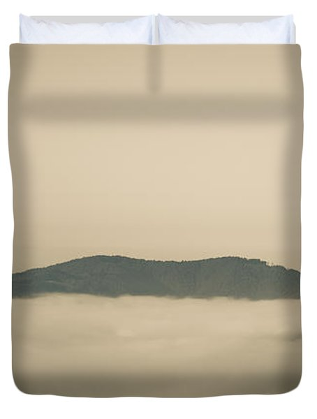 Above Everything Duvet Cover by Gabriela Insuratelu